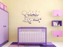"Child's or Nursery ""The Smallest Things"" Wall Quote, Wall Sticker, Decal, Family"